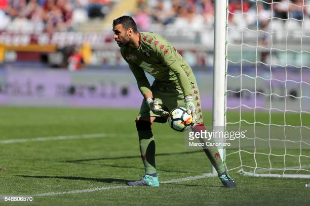 Salvatore Sirigu of Torino FC in action during the Serie A football match between Torino Fc and Uc Sampdoria
