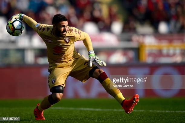 Salvatore Sirigu of Torino FC in action during the Serie A football match between Torino FC and AS Roma AS Roma won 10 over Torino FC
