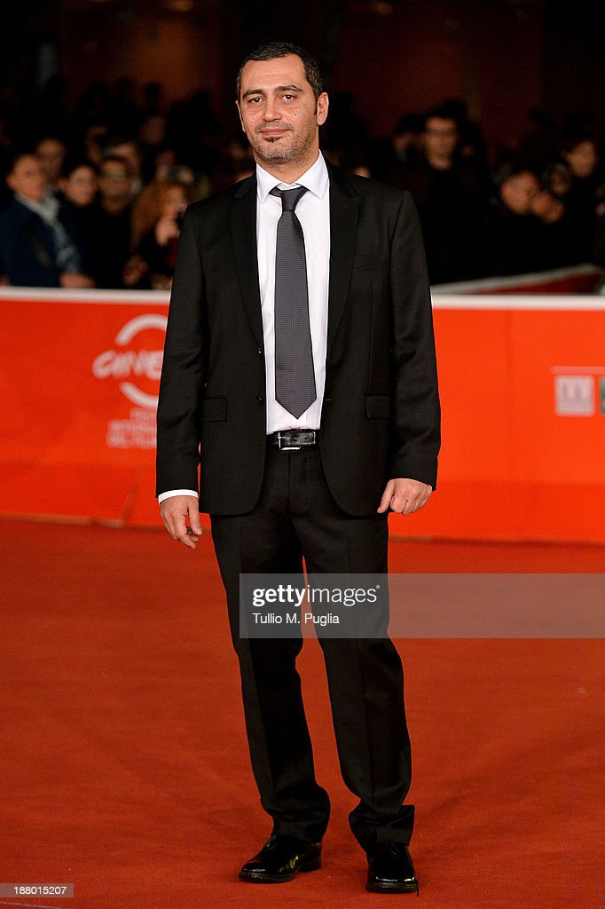 Salvatore Striano attends the 'Take Five' Premiere during The 8th Rome Film Festival at Auditorium Parco Della Musica on November 14, 2013 in Rome, Italy.