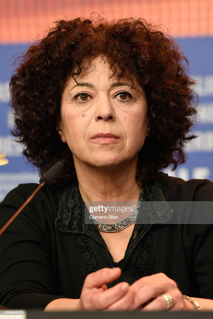 Salwa Nakkara attends the 'Junction 48' press conference during the 66th Berlinale International Film Festival Berlin at Grand Hyatt Hotel on February 13, 2016 in Berlin, Germany.