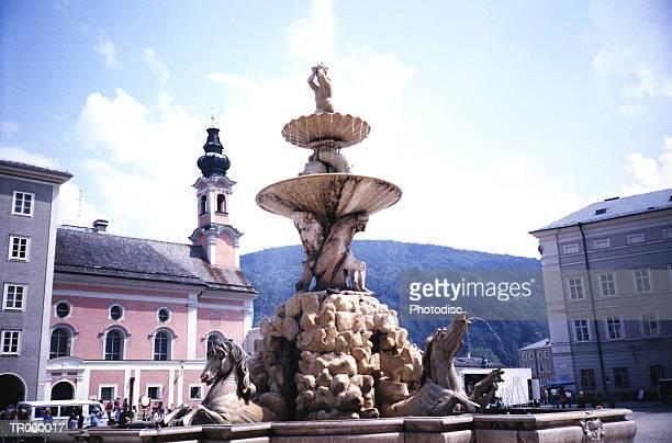 Salzburg, Austria - Fountain