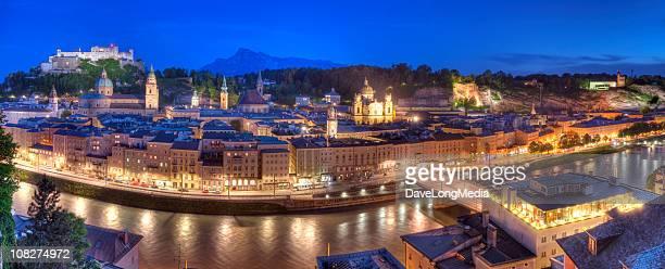 Salzburg Sommerabend (XXL