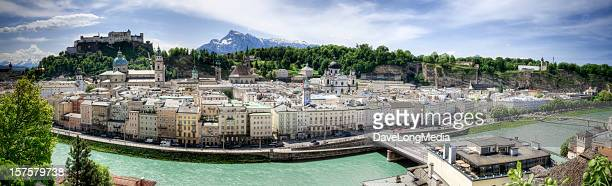 Salzburg Sommer-Panorama (XXXL