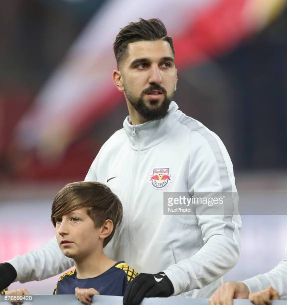 Salzburg's midfielder from Israel Moanes Dabour before the Austrian Bundesliga match between Red Bull Salzburg and Sturm Graz at WalsSiezenheim...