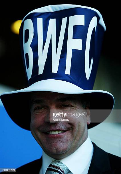 Sam Alladyce manager of Bolton Wanderers poses during the Bolton Wanderers Carling Cup Final Press Conference at The Reebok Stadium on February 24...