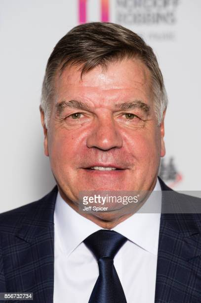 Sam Allardyce attends the Legends of Football fundraiser at The Grosvenor House Hotel on October 2 2017 in London England The annual footballthemed...