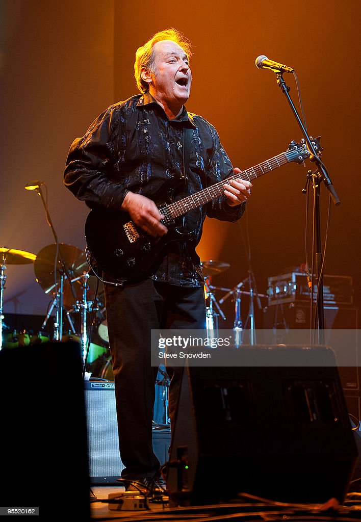 Sam Andrew founding member and guitarist of Big Brother and the Holding Company performs with The Heroes of Woodstock at Route 66 Casino's Legends...