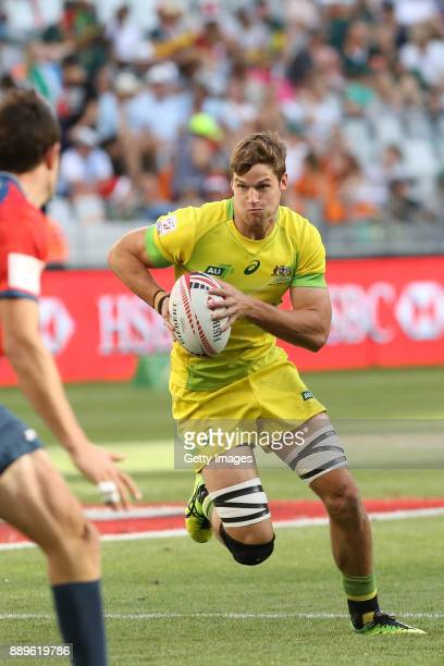 Sam Anstee during day 2 of the 2017 HSBC Cape Town Sevens at Cape Town Stadium on December 10 2017 in Cape Town South Africa