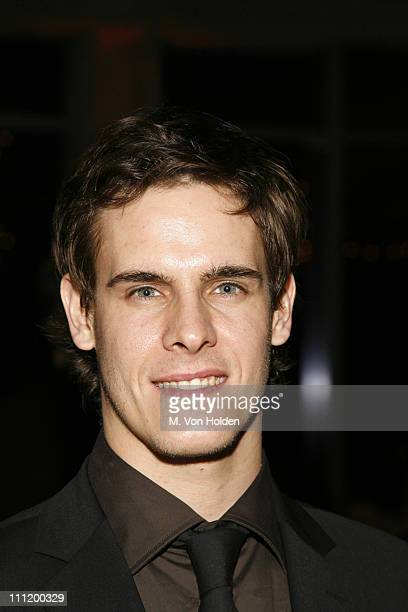 Sam Archer during BAM 2007 Spring Gala Celebrating the New York Premiere of 'Edward Scissorhands' at 7 World Trade Center in New York City New York...