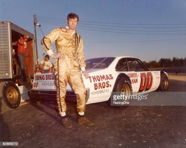 Sam Ard of Asheboro NC was a tough competitor in NASCAR's Late Model Sportsman series He won the national titles in 198384 driving the Thomas Bros...