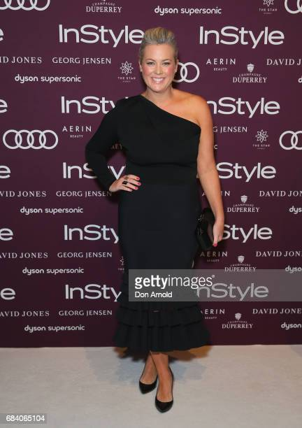 Sam Armytage arrives ahead of the Women of Style Awards at The Star on May 17 2017 in Sydney Australia