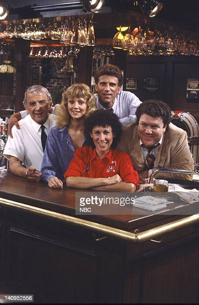 CHEERS 'Sam At Eleven' Episode 4 Air Date Pictured Nicholas Colasanto as Ernie 'Coach' Pantusso Shelley Long as Diane Chambers Ted Danson as Sam...