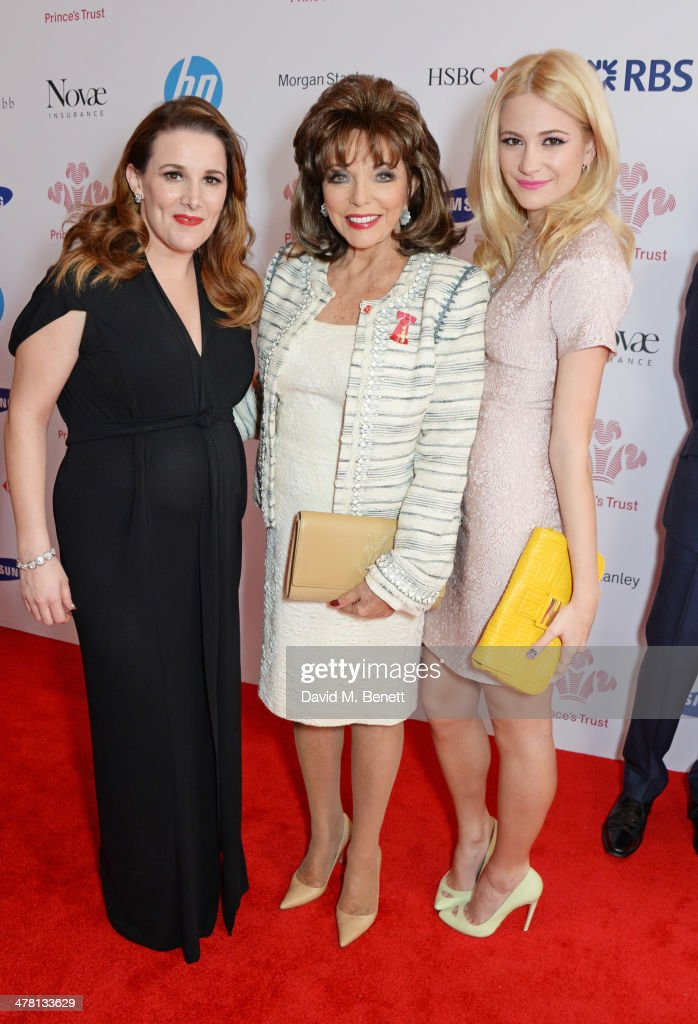Sam Bailey, <a gi-track='captionPersonalityLinkClicked' href=/galleries/search?phrase=Joan+Collins&family=editorial&specificpeople=109065 ng-click='$event.stopPropagation()'>Joan Collins</a> and <a gi-track='captionPersonalityLinkClicked' href=/galleries/search?phrase=Pixie+Lott&family=editorial&specificpeople=5591168 ng-click='$event.stopPropagation()'>Pixie Lott</a> attend The Prince's Trust & Samsung Celebrate Success Awards at Odeon Leicester Square on March 12, 2014 in London, England.