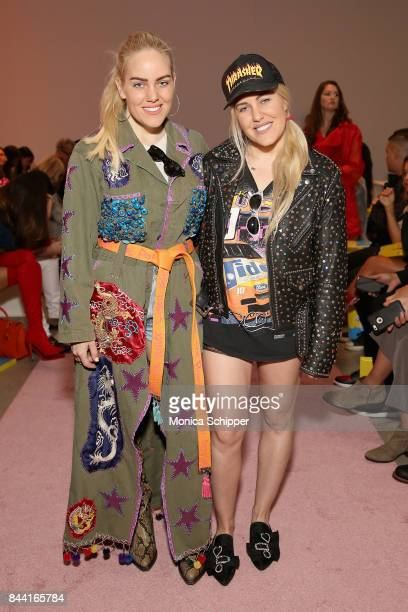 Sam Beckerman and Cailli Beckerman attend the GCDS fashion show during New York Fashion Week The Shows at Gallery 2 Skylight Clarkson Sq on September...