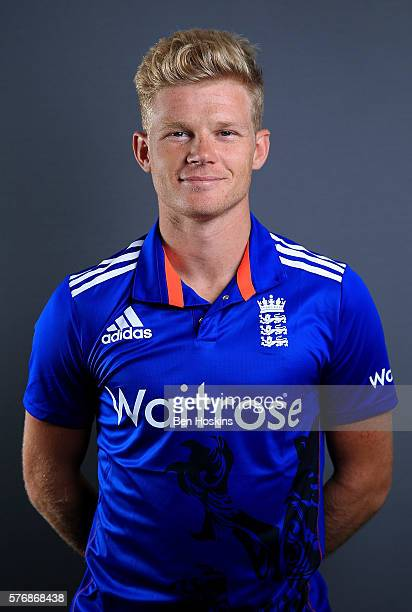 Sam Billings of England poses for a picture during England Lions Media Access on July 18 2016 in Cheltenham England