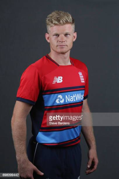 Sam Billings of England poses for a portrait ahead of the Twenty20 International between England and South Africa at Ageas Bowl on June 20 2017 in...