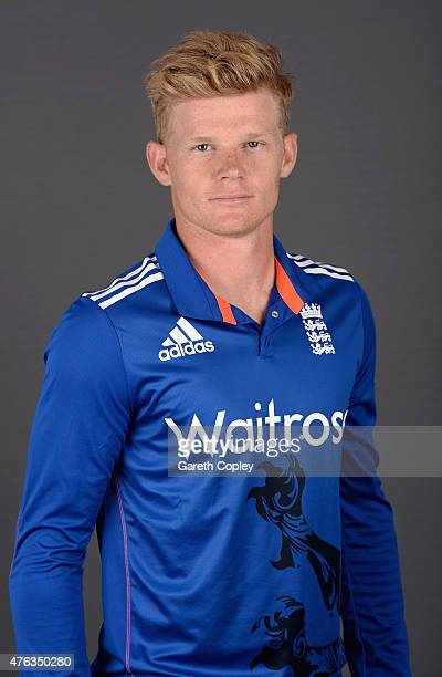 Sam Billings of England poses for a portrait at Edgbaston on June 8 2015 in Birmingham England