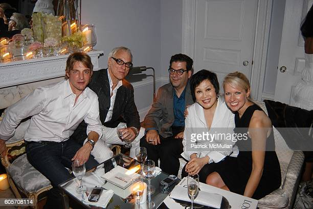 Sam Bolton Richard Turley Michael Musto YueSai Kan and Monica Crowley attend Party to Celebrate June Haynes' US Citizenship at Private Residence on...