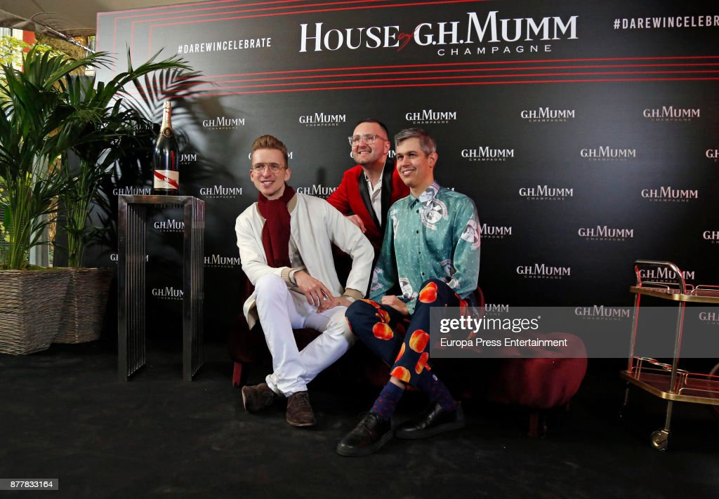 Gianluca Vacchi Attends HOUSE of G.H. MUMM Opening In Madrid