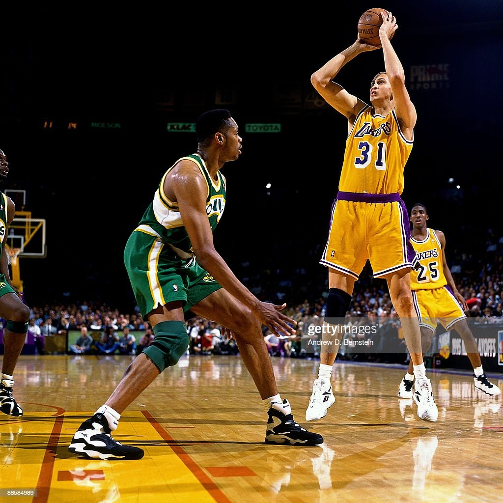 1995 Western Conference Quarterfinals Game 3 Seattle Supersonics