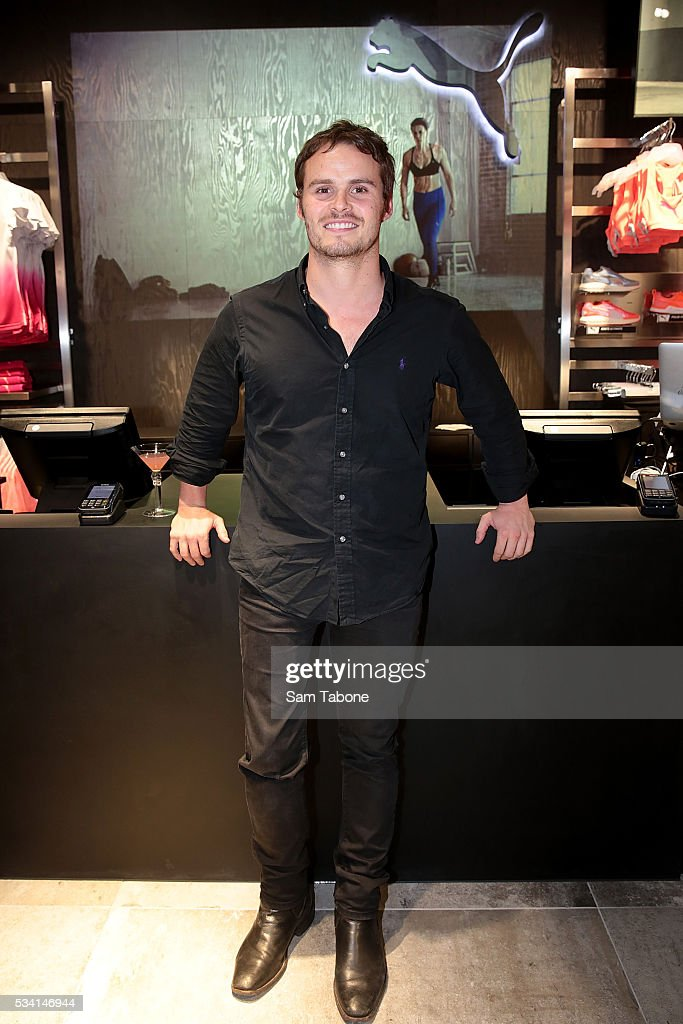 Sam Bramham-Paralympic Swimmer at the Puma Flagship store launch at Melbourne Central on May 25, 2016 in Melbourne, Australia.