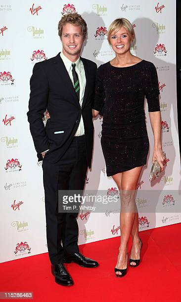 Sam Branson and Isabella Calthorpe attend the 30th anniversary party of The Roof Gardens at The Roof Gardens on June 6 2011 in London England