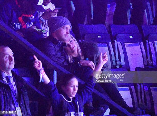 Sam Branson and Isabella Calthorpe attend WE Day at SSE Arena on March 9 2016 in London England WE Day is a celebration of youth making a difference...