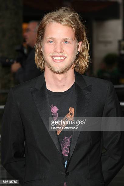 Sam Branson arrives at the Hancock premiere at Vue cinema in Leicester Square on June 18 2008 in London England