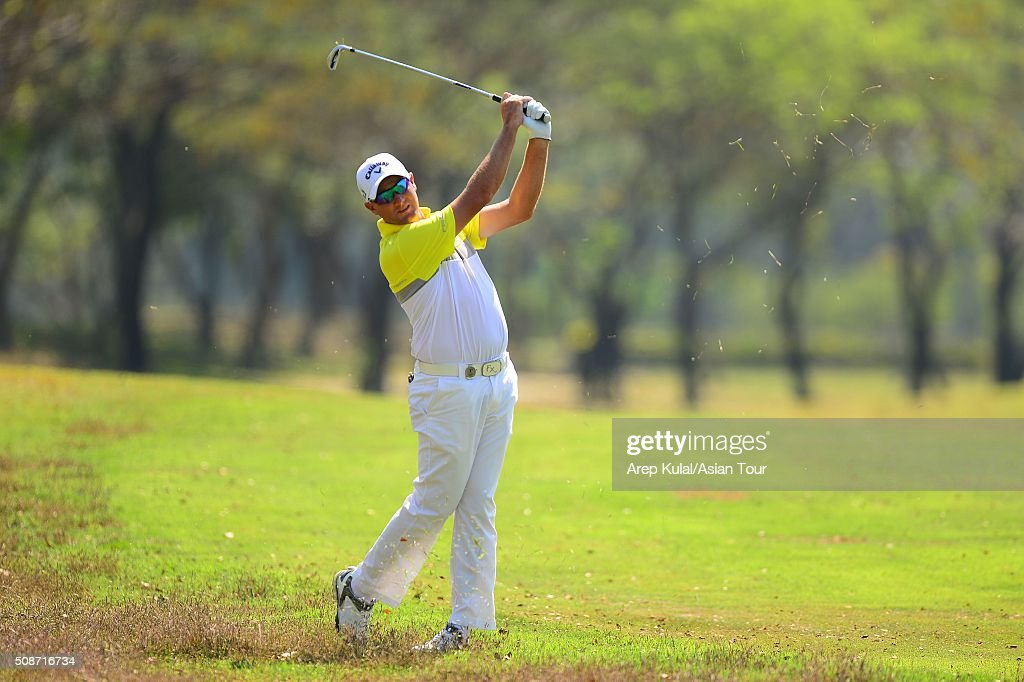 Sam Brazel of Australia pictured during round three of the Leopalace21 Myanmar Open at Royal Mingalardon Golf and Country Club on February 6, 2016 in Yangon, Myanmar.
