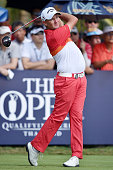 Sam Brazel of Australia plays the shot during the final round of the 2015 Thailand Open at Amata Spring Country Club on December 13 2015 in Chon Buri...
