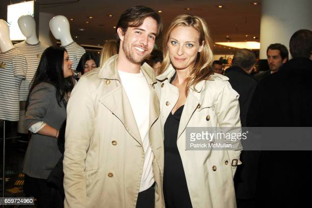 Sam Broekema and Jessica Diehl attend BARNEYS NEW YORK Celebrates RICHARD CHAI BEN JONES TShirt collaboration to benefit The ELIZABETH GLAZER...