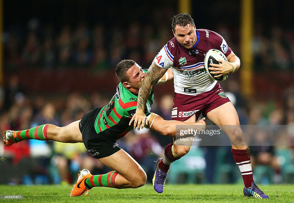 NRL Rd 22 - Rabbitohs v Sea Eagles
