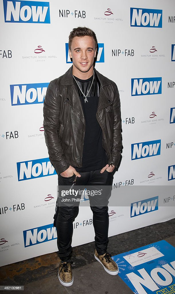 Sam Callahan attends the Now Magazine Christmas party at Soho Sanctum Hotel on November 26, 2013 in London, England.
