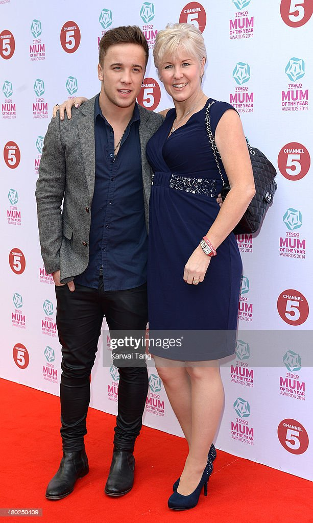 Sam Callahan attends the Tesco Mum of the Year awards at The Savoy Hotel on March 23, 2014 in London, England.