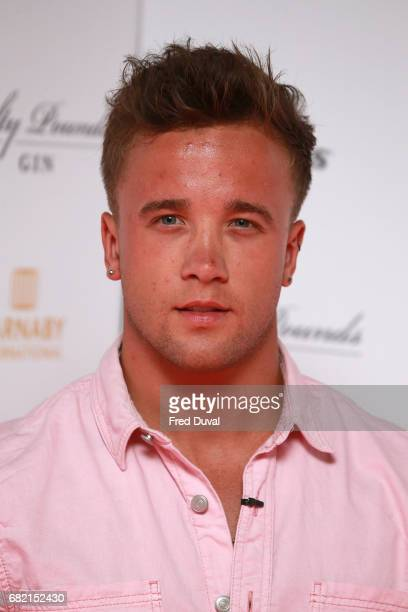 Sam Callahan attends the World Premiere of 'Interlude In Prague' at Odeon Leicester Square on May 11 2017 in London England