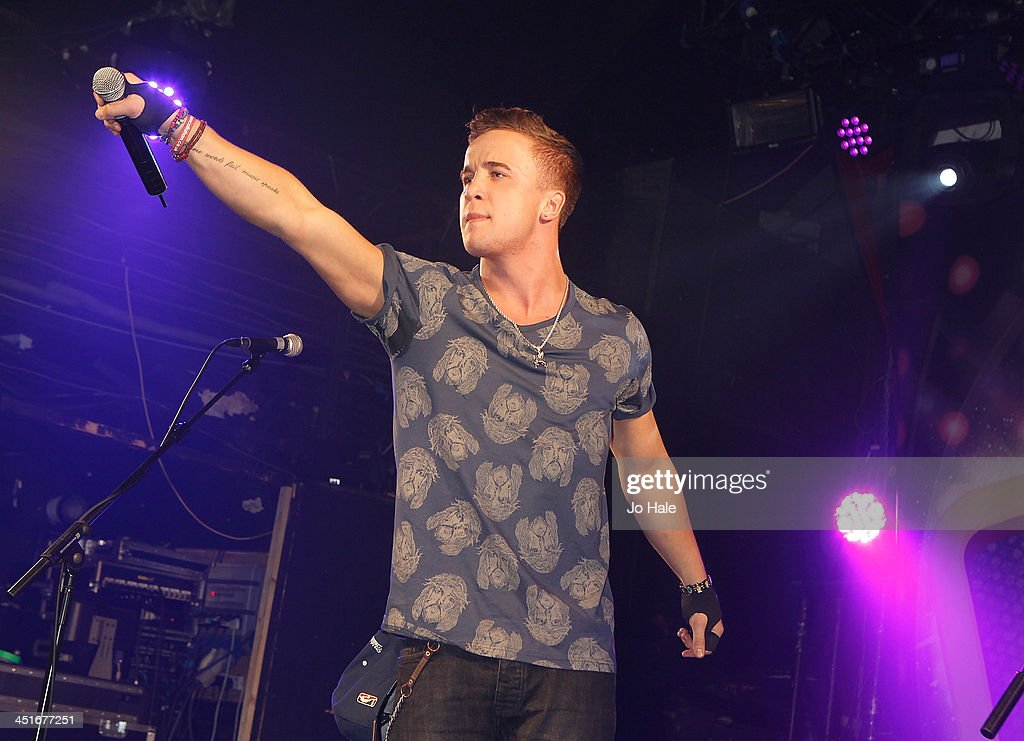 Sam Callahan performs on stage at G-A-Y Heaven on November 24, 2013 in London, England.