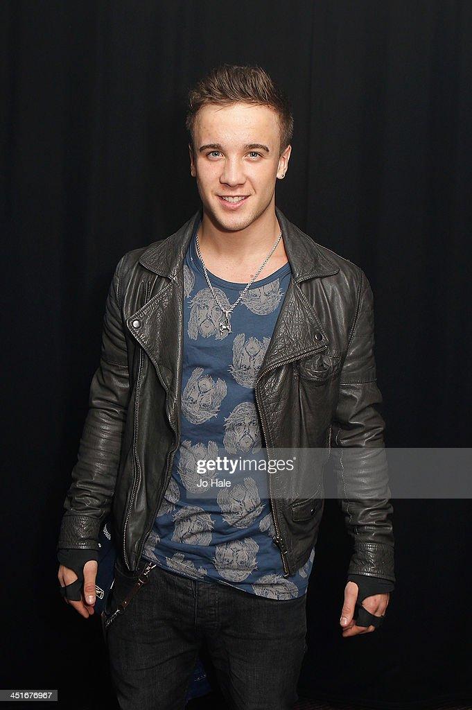 Sam Callahan poses backstage at G-A-Y Heaven on November 24, 2013 in London, England.