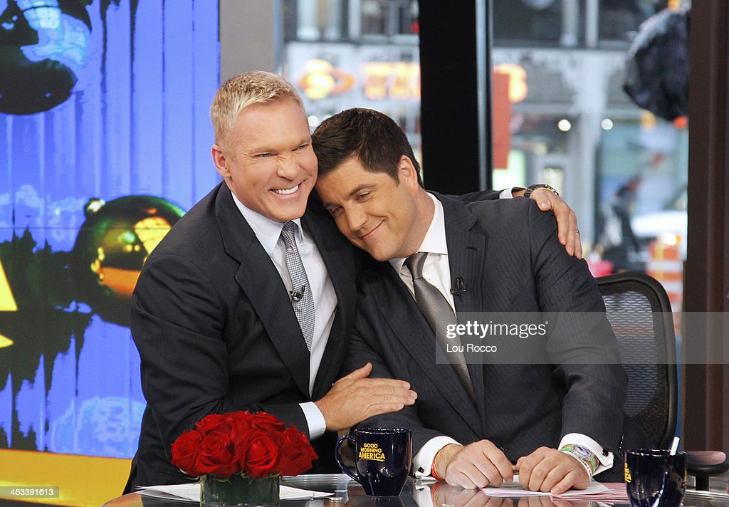 AMERICA - Sam Champion announces that he will be leaving 'Good Morning America,' 12/3/13, airing on the ABC Television Network. SAM