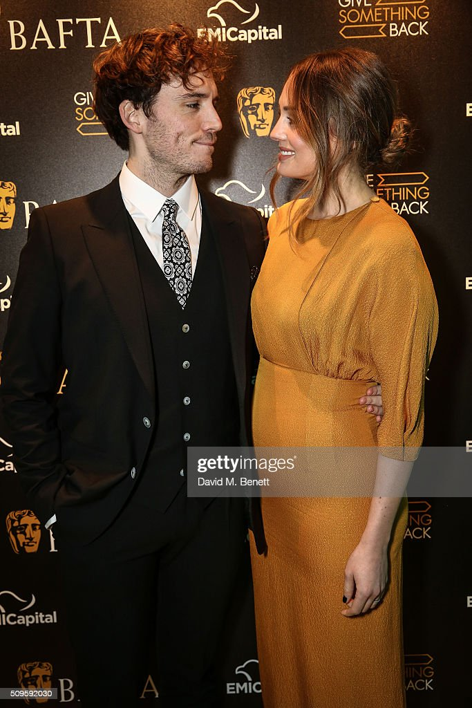 Sam Clafin and <a gi-track='captionPersonalityLinkClicked' href=/galleries/search?phrase=Laura+Haddock&family=editorial&specificpeople=4949007 ng-click='$event.stopPropagation()'>Laura Haddock</a> attend the BAFTA Film Gala in aid of the 'Give Something Back' campaign at BAFTA Piccadilly on February 11, 2016 in London, England.