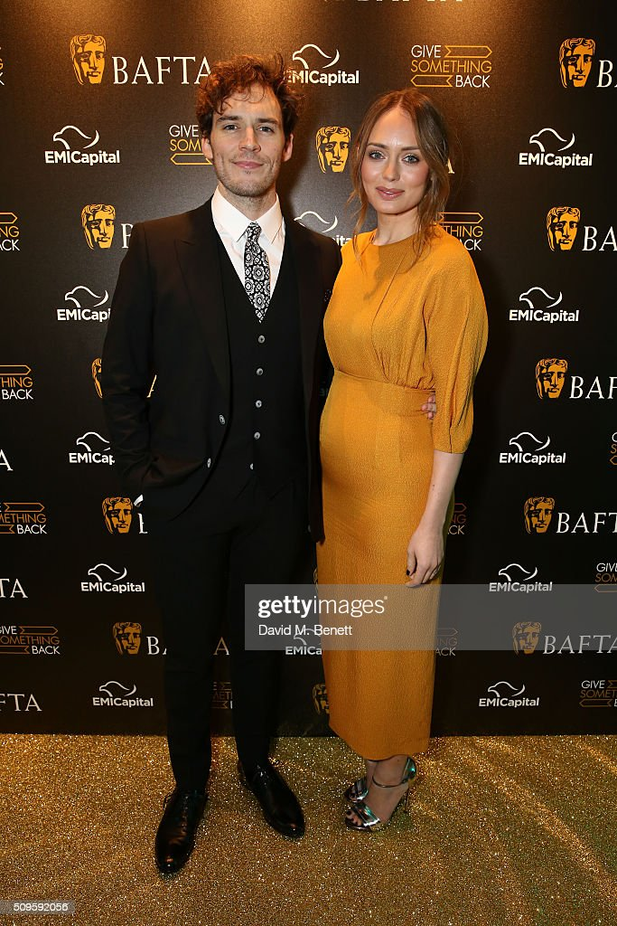 Sam Clafin and Laura Haddock attend the BAFTA Film Gala in aid of the 'Give Something Back' campaign at BAFTA Piccadilly on February 11, 2016 in London, England.