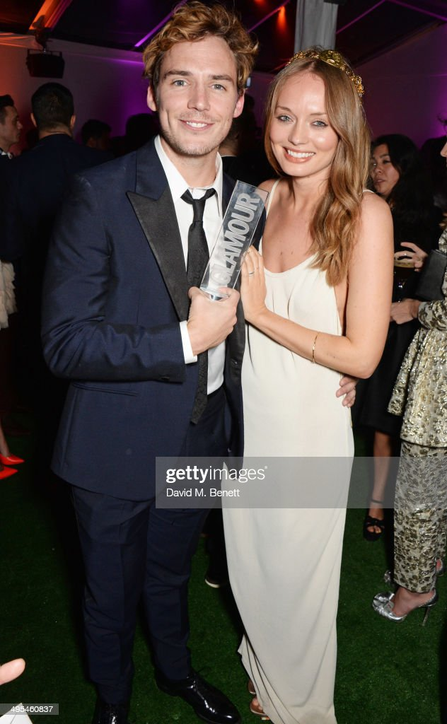<a gi-track='captionPersonalityLinkClicked' href=/galleries/search?phrase=Sam+Claflin&family=editorial&specificpeople=7238693 ng-click='$event.stopPropagation()'>Sam Claflin</a> (L) and <a gi-track='captionPersonalityLinkClicked' href=/galleries/search?phrase=Laura+Haddock&family=editorial&specificpeople=4949007 ng-click='$event.stopPropagation()'>Laura Haddock</a> attend the Glamour Women of the Year Awards after party in Berkeley Square Gardens on June 3, 2014 in London, England.