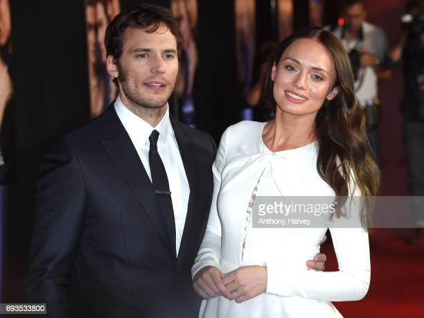 Sam Claflin and Laura Haddock attend the World Premiere of 'My Cousin Rachel' at Picturehouse Central on June 7 2017 in London England