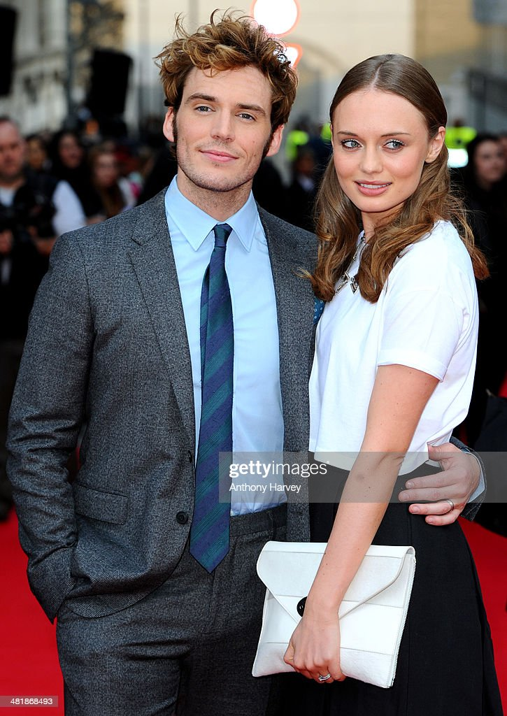 <a gi-track='captionPersonalityLinkClicked' href=/galleries/search?phrase=Sam+Claflin&family=editorial&specificpeople=7238693 ng-click='$event.stopPropagation()'>Sam Claflin</a> and <a gi-track='captionPersonalityLinkClicked' href=/galleries/search?phrase=Laura+Haddock&family=editorial&specificpeople=4949007 ng-click='$event.stopPropagation()'>Laura Haddock</a> attend the World Premiere of 'The Quiet Ones' at Odeon West End on April 1, 2014 in London, England.