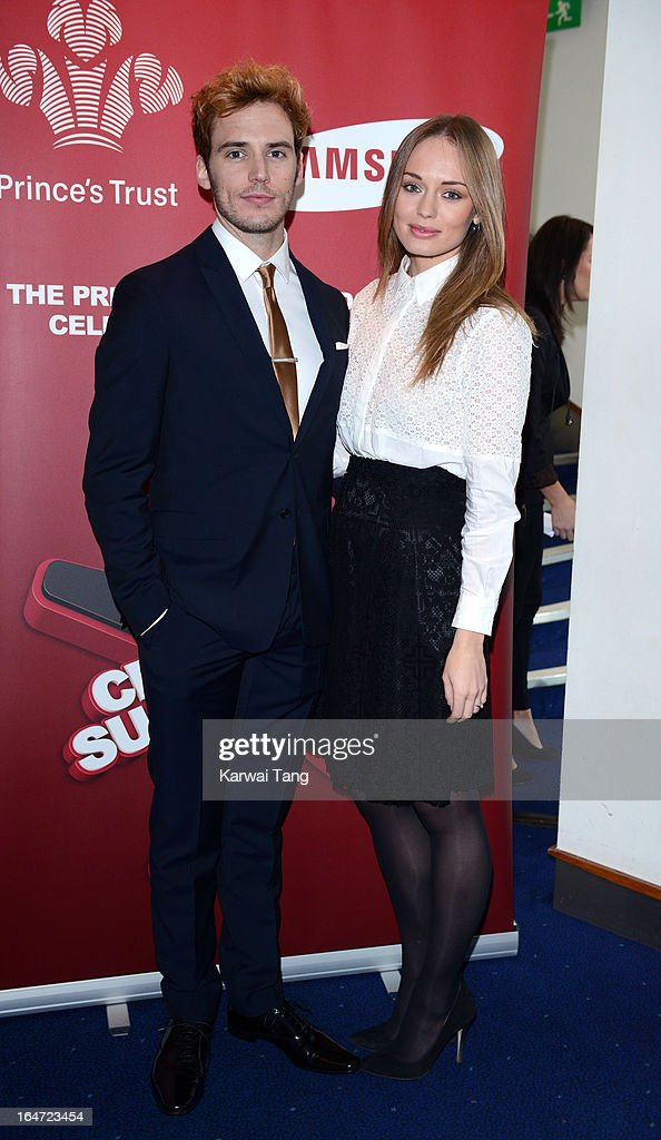 Sam Claflin and Laura Haddock attends the Prince's Trust Celebrate Success Awards at Odeon Leicester Square on March 26, 2013 in London, England.