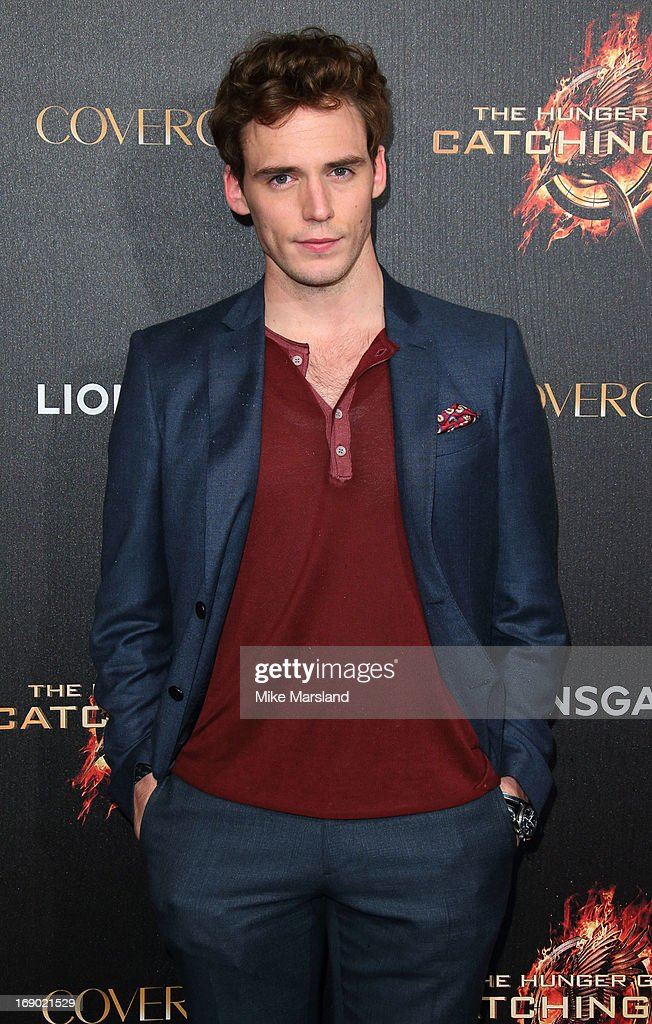 Sam Claflin attends a party for 'The Hunger Games: Catching Fire' at The 66th Annual Cannes Film Festival at Baoli Beach on May 18, 2013 in Cannes, France.