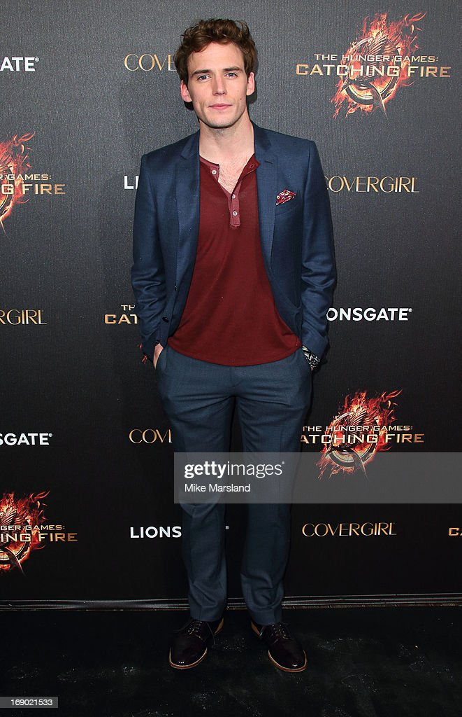 <a gi-track='captionPersonalityLinkClicked' href=/galleries/search?phrase=Sam+Claflin&family=editorial&specificpeople=7238693 ng-click='$event.stopPropagation()'>Sam Claflin</a> attends a party for 'The Hunger Games: Catching Fire' at The 66th Annual Cannes Film Festival at Baoli Beach on May 18, 2013 in Cannes, France.