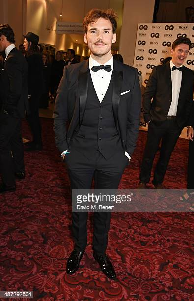 Sam Claflin attends the GQ Men Of The Year Awards at The Royal Opera House on September 8 2015 in London England