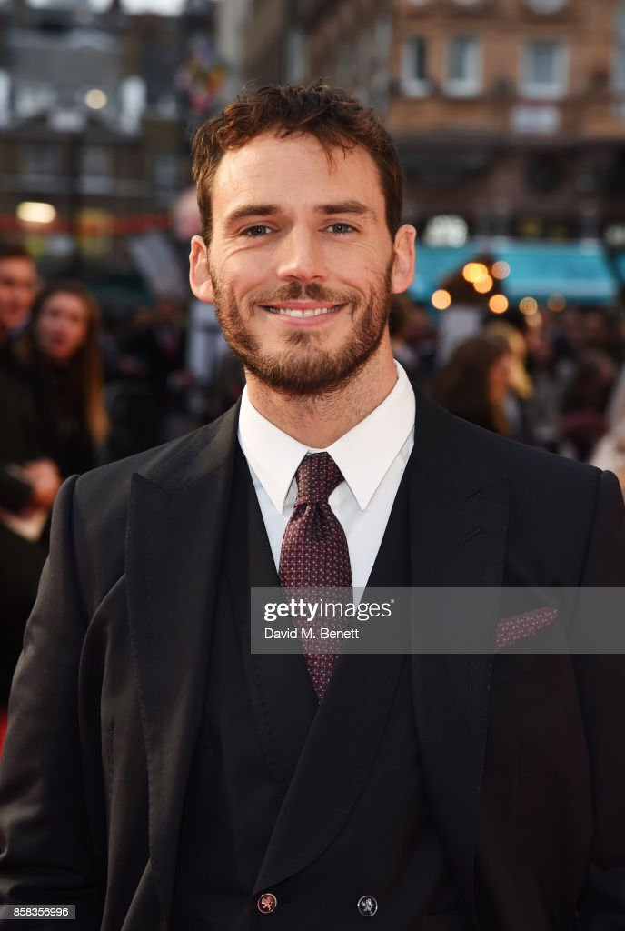 Sam Claflin attends the Headline Gala Screening & European Premiere of 'Journey's End' during the 61st BFI London Film Festival at Odeon Leicester Square on October 6, 2017 in London, England.