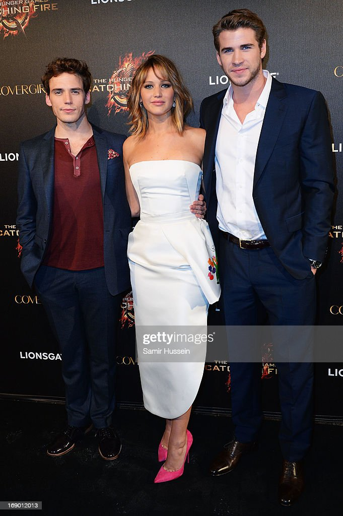 <a gi-track='captionPersonalityLinkClicked' href=/galleries/search?phrase=Sam+Claflin&family=editorial&specificpeople=7238693 ng-click='$event.stopPropagation()'>Sam Claflin</a> attends 'The Hunger Games: Catching Fire' Party during The 66th Annual Cannes Film Festival at Baoli Beach on May 18, 2013 in Cannes, France.