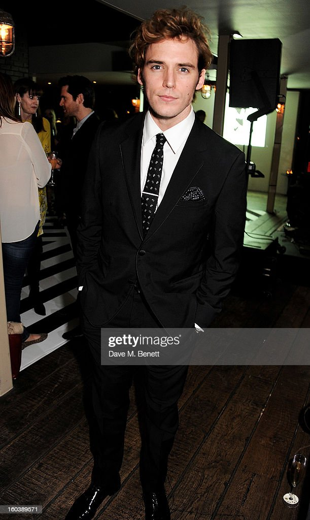Sam Claflin attends the InStyle Best Of British Talent party in association with Lancome and Avenue 32 at Shoreditch House on January 30, 2013 in London, England.